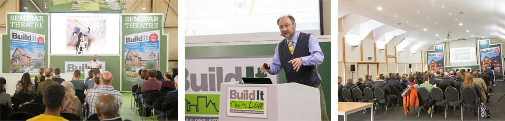 Free workshops and seminars at Build It Live